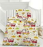 Kinderbettwäsche Baby Bettwäsche Microfaser 100x135 415394 Zug