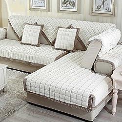 MEHE@ Romantik stilvoll Persönlichkeit kreativ Dick einfache Moderne Sofa Kissen Winter Ledersofa Kissen Sofa-Sets Sofa Handtücher Sofaabdeckung Sofa-Überwürfe (größe : 70 * 150cm)