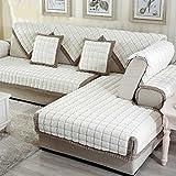 MEHE@ Romantik stilvoll Persönlichkeit kreativ Dick einfache moderne Sofa Kissen Winter Ledersofa Kissen Sofa-Sets Sofa Handtücher Sofaabdeckung Sofa-Überwürfe ( größe : 70*150cm )