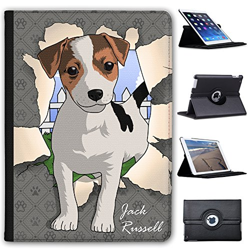 jack-russell-breaking-through-faux-leather-case-cover-folio-for-the-apple-ipad-air-2