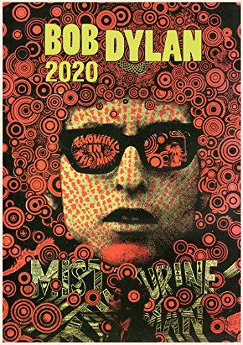 2019 Kalender [12 Pages 20x30cm] Bob Dylan Vintage Rock Music Poster (Dylan Bob Vintage)