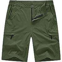 YSENTO Men's Outdoor Cargo Hiking Shorts Quick Dry Casual Summer Lightweight Walking Sports Running Shorts