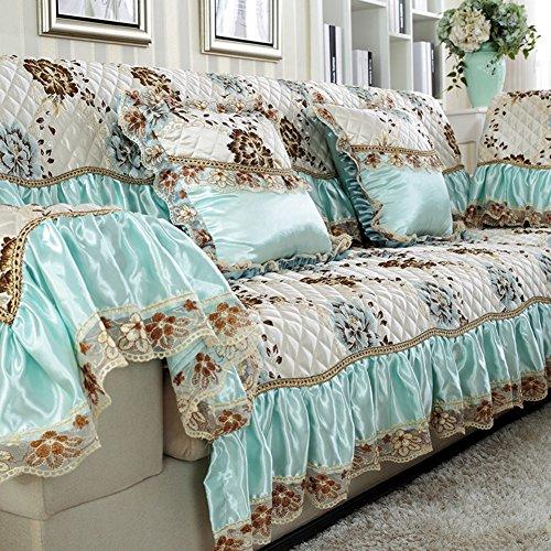 Winter Leinen Sofa Handtuch/Slip Sofa Handtuch/Vier Jahreszeiten,Stoffe,Sofa-handtuch/Europäisch Anmutende Sofa Handtuch/Sofabezug/Sofa-C 90x240cm(35x94inch)