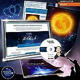 World Afar - Set de regalo con el nombre de una estrella, con certificado, catálogo y más