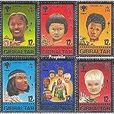 Gibraltar 395-400 (completa.edición.) 1979 año del Kindel (sellos para los coleccionistas)
