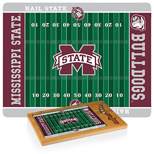 Picnic Time NCAA Mississippi State Bulldogs Digital Print Icon, Natural, One Size