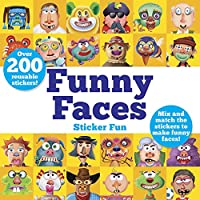 Funny Faces Sticker Fun: Mix and Match the Stickers to Make Funny Faces (Dover Children