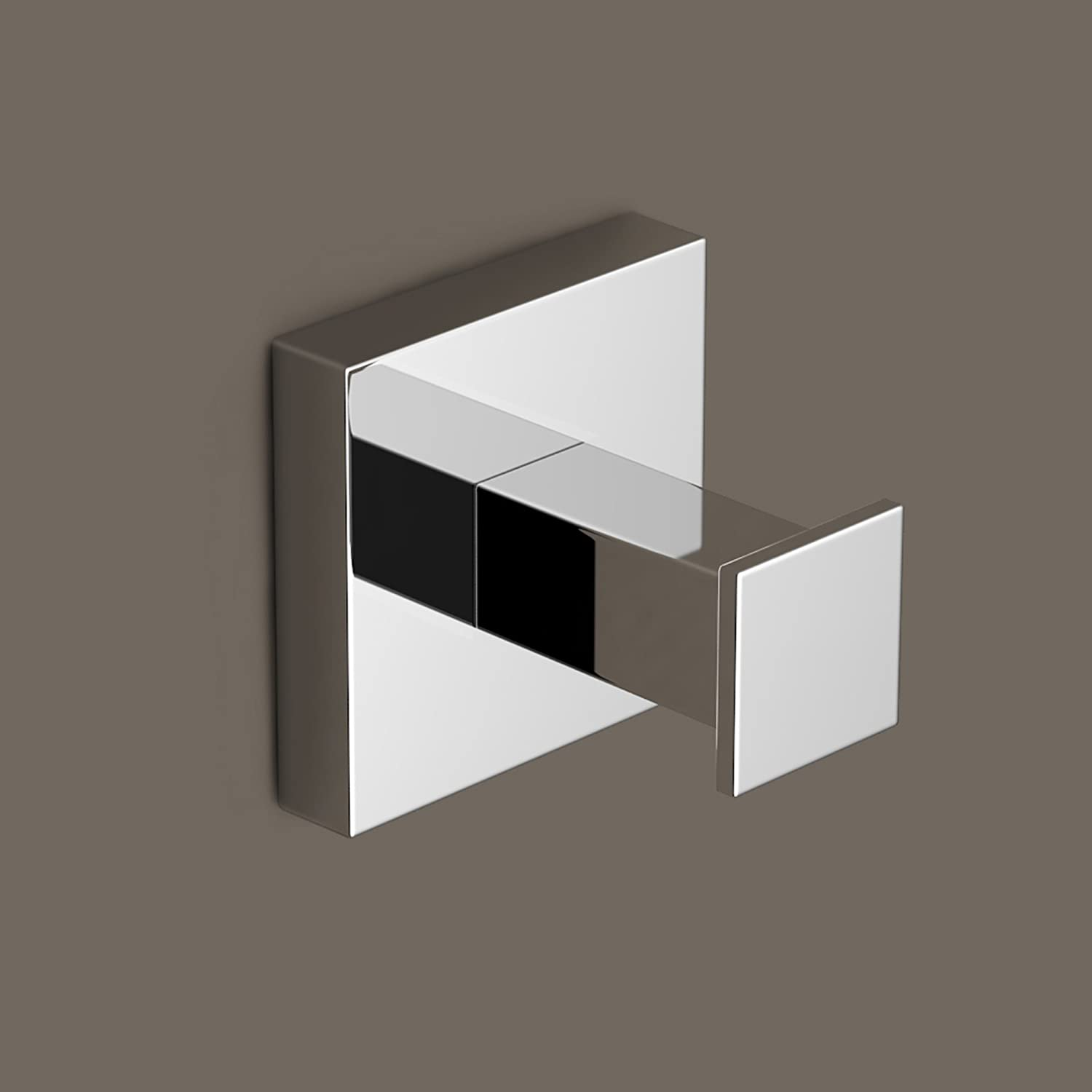 modern chrome towel robe hook luxury square bathroom accessory acc118 ibathuk amazoncouk kitchen u0026 home