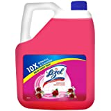 Lizol Disinfectant Surface & Floor Cleaner Liquid, Floral - 5 L
