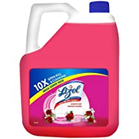 Lizol Disinfectant Surface & Floor Cleaner Liquid, Floral - 5 L | Kills 99.9% Germs