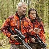 SHOOTERKING Softshelljacke Wendejacke braun - orange camo Mossy Orange Signaljacke NEU!, Größen:XXL