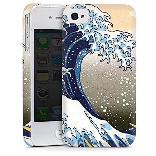 Apple iPhone 5c Housse Étui Protection Coque Katsushika Hokusai Japon Art Cas Premium mat