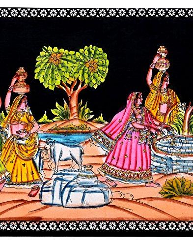 Pared decorativos colgantes impresas tapicería del algodón arte de la pared Decoración