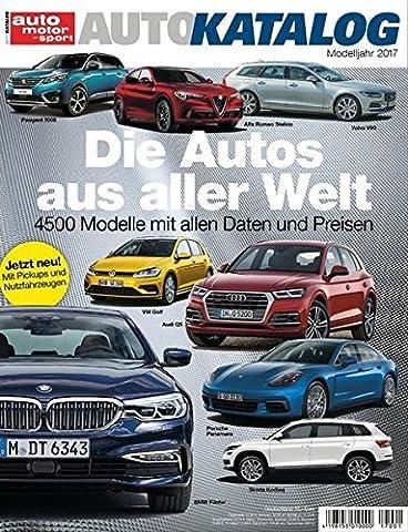 Auto-Katalog 2017