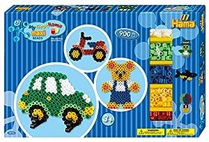 HAMA BEADS 8715 Kit de Manualidades para niños - Kits de Manualidades para niños (Kit de Manualidades para niños, Cuentas, Niño/niña, 3 año(s), CE, Caja)