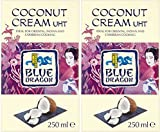 (2 Pack) - Blue Dragon - Coconut Cream   250ml   2 PACK BUNDLE