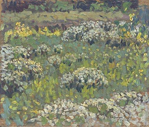 Garten-teich-canvas Art (Das Museum Outlet-Der Teich Garten, Hampton Court-Canvas Print Online kaufen (152,4x 203,2cm))
