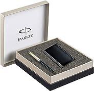 Parker Galaxy Standard GT Ball Point Pen - with Card Holder