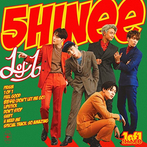 SHINee Vol. 5 - 1 of 1 CD+SHINee Vol. 5 - 1 of 1 CASSETTE tape (2 album set)[+Poster][+24K autograph filter][+photocard][+Postcard][+Sticker] (Cassette Tape Set 2)
