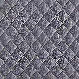 Fabulous Fabrics Steppstoff Melange – grau — Meterware