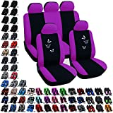 Best Car Seat Covers - Woltu #282 Black/Purple Polyester Car Seat Covers Full Review