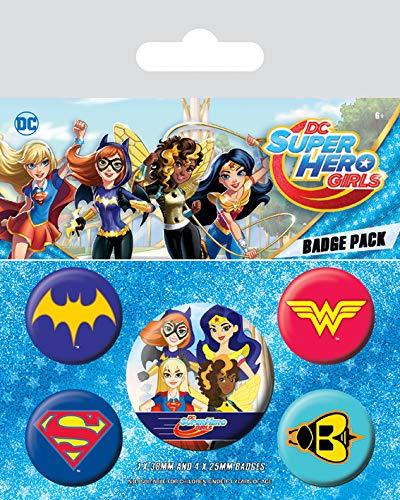 DC Superhero Girls–Logo 's, Adornos, 10x 12.5cm