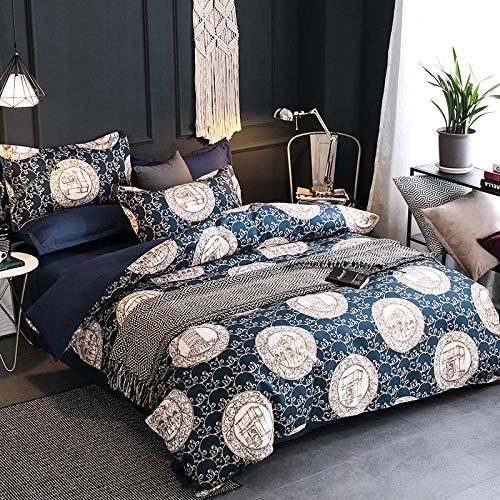 FAIEK Bettwäsche Sets Bettbezüge Flauschig Weicher Komfort Home School Schlafsaal Hostel Bettwäsche Optionale Größe. Berlin -König