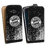 DeinDesign Samsung Galaxy J3 Duos 2016 Tasche Hülle Flip Case Sprayart FC Bayern München FCB