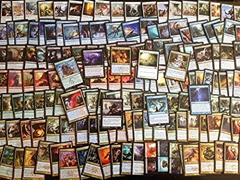 100 Card MTG Magic the Gathering Collection Assorted Bundle Repack Lot: 25 Rare & 75 Uncommon, Recent Sets, No Duplicates by Magic: the Gathering