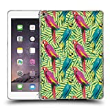 Head Case Designs Offizielle Ninola Tropischer Tschungel Papageien Muster 2 Soft Gel Hülle für iPad Air 2 (2014)