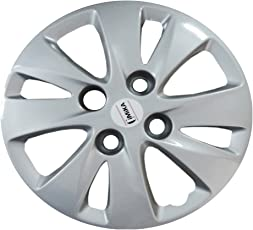 """13"""" GLOSSY SILVER WHEEL COVER FOR I-10"""