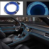 Cavo neon USB EL per interni auto bici Cosplay Festival Decorazione LED incandescente filo elettroluminescente luci…