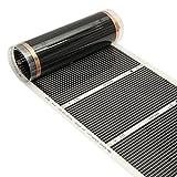 Tutoy 80Cm 2M/3M/4M 220V Far Infrarot Fußbodenheizung Film Kristall Kohlefaser Fussbodenheizung Film - 4m