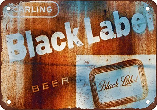 carling-black-label-rouille-biere-look-vintage-reproduction-plaque-en-metal-178-x-254-cm