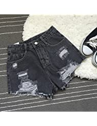 WHTLL-The Hole Denim Shorts Lady Loose A Word Shorts Shorts Flash