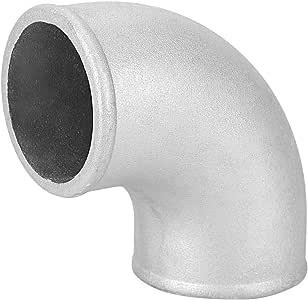 Curva stretta turbo intercooler tubo gomito in alluminio pressofuso