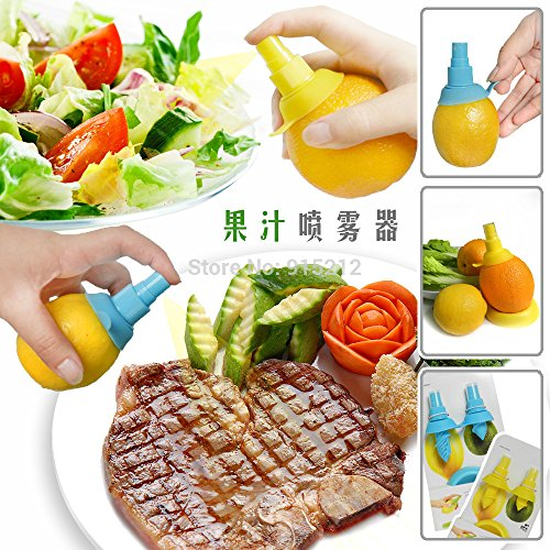 quickcor (TM) Cuisine Presse Jus de citron pulvérisateur Citrus Spray Agrumes Mini main Presse-agrumes