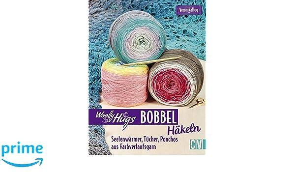 Amazonfr Woolly Hugs Bobbel Häkeln Seelenwärmer Tücher Ponchos