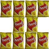 10x Fonzies Gli Originali 'Maissnack mit Käsegeschmack', 40 g