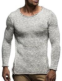 LEIF NELSON Herren Strickpullover Pullover Sweatshirt LN20709