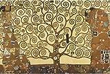 1art1 48106, Poster, motivo: Gustav Klimt - L'albero della vita, 91 x 61 cm