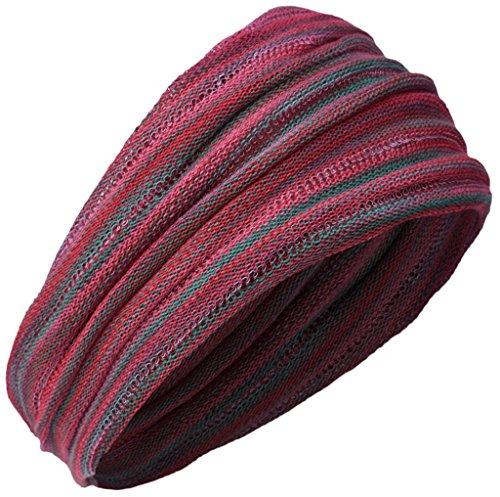 Little Kathmandu Multicoloured Stretchable Double Long Headband Bandana