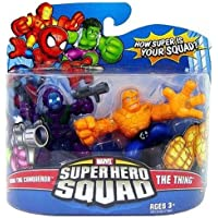 Marvel Superhero Squad Series 11 Mini 3 Inch Figure 2-Pack Kang The Conqueror and The Thing by Hasbro