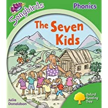 Oxford Reading Tree: Level 2: More Songbirds Phonics: The Seven Kids by Julia Donaldson (2012-07-05)