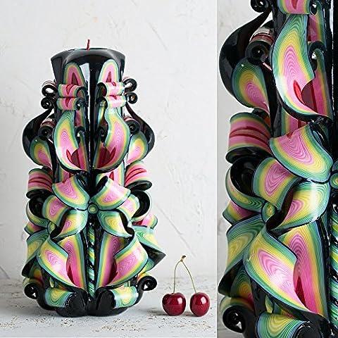 Hohe-Kerze, Schwarze Brazilia Geschenke für Männer, die alles haben - EveCandles