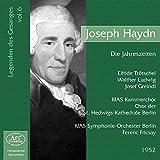 Joseph haydn die jahreszeiten (les chanteurs legendaires - volume 6)