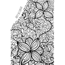 Happy Sketchbook: Floral: Cuaderno en blanco para soñar: Volume 3
