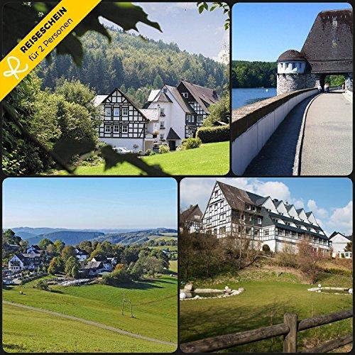 Luce del viaggio–3giorni in * * * hotel & locanda hubertus altezza il sauerland erleben e godetevi–buono kurzreise kurzurlaub viaggio regalo