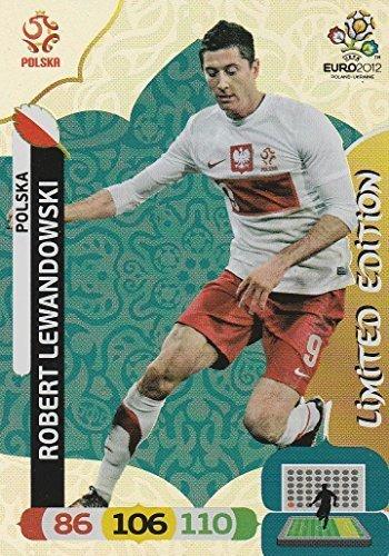 Panini Adrenalyn XL EURO EM 2012 – ROBERT LEWANDOWSKI – LIMITED EDITION