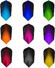 10x Sets Harrows Sonic gemischt Farbe Dart Flights Slim